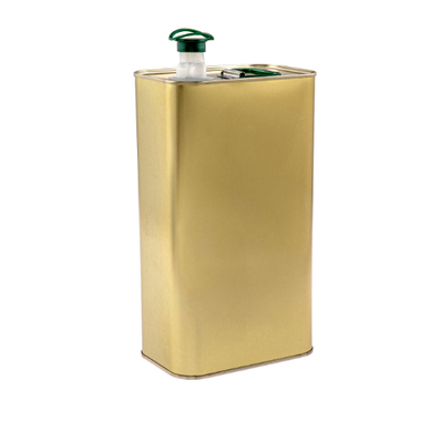 Sarkap 3000 ml (3 L) Lacquered Empty Olive Oil Can - Thumbnail