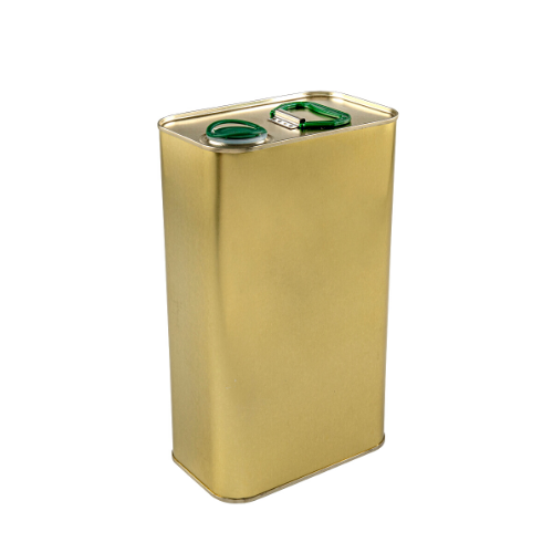 Sarkap 3000 ml (3 L) Lacquered Empty Olive Oil Can