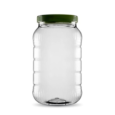 Sarkap - Sarkap 5000 ml Pet Jar with Twist-off Cap & Long Sections